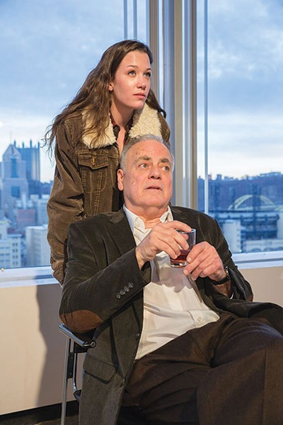 Hayley Nielsen and John Shepard in Quantum's The Master Builder - PHOTO COURTESY OF JOHN ALTDORFER
