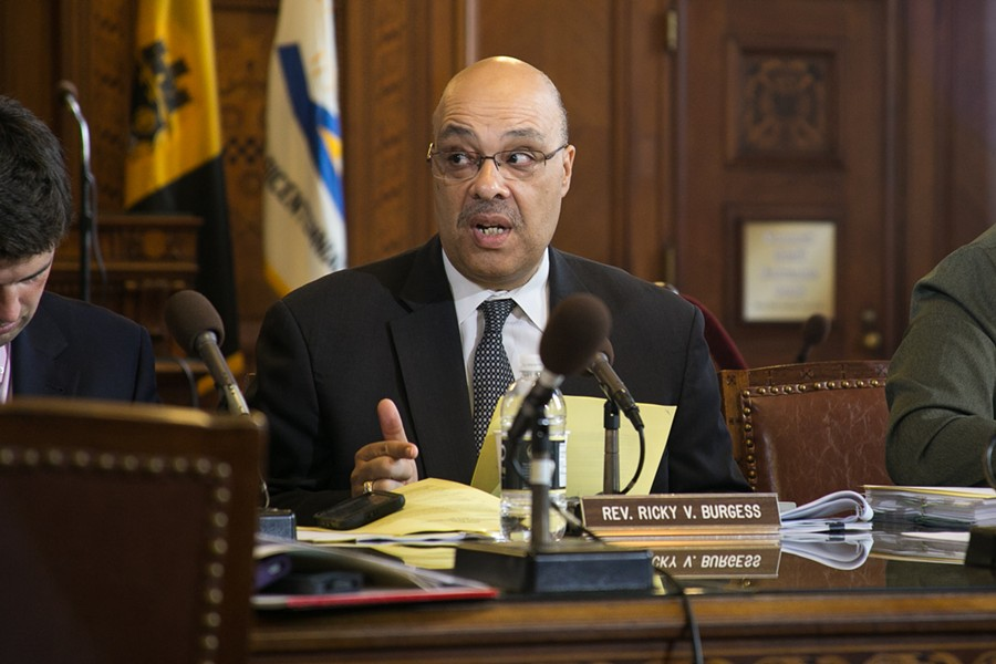 Councilor Ricky Burgess - CP FILE PHOTO BY MIKE SCHWARZ