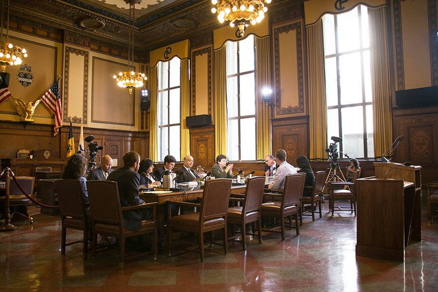Pittsburgh City Council representatives in Council Chambers - CP FILE PHOTO BY MIKE SCHWARZ