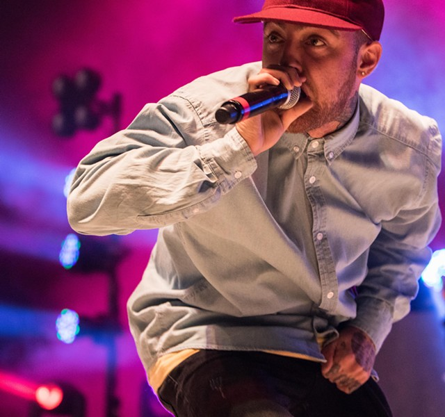 Mac Miller live Sept. 18 at Stage AE - PHOTO BY LUKE THOR TRAVIS
