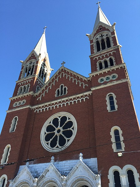 St. John Vianney Church in Allentown (formerly St. George's) - PHOTO COURTESY OF JULIE COLLINS