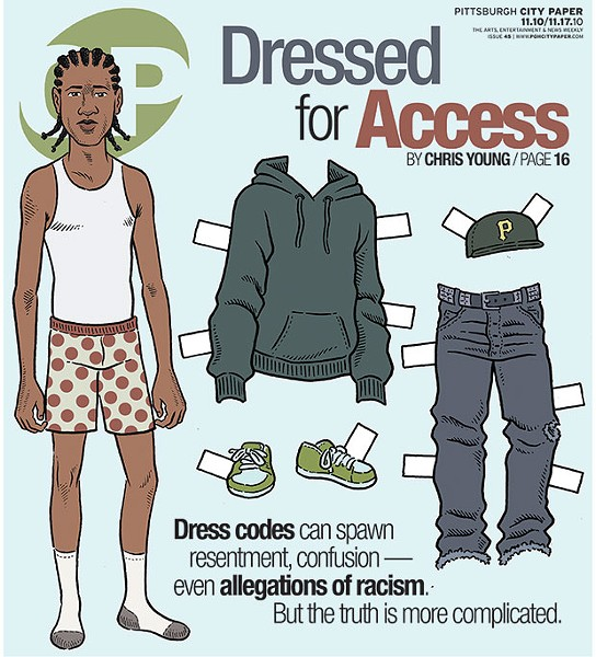 Nov. 10, 2010 cover story on dress codes at local bars and clubs - CP FILE PHOTO
