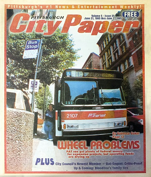 June 21, 1995 cover story on public transportation