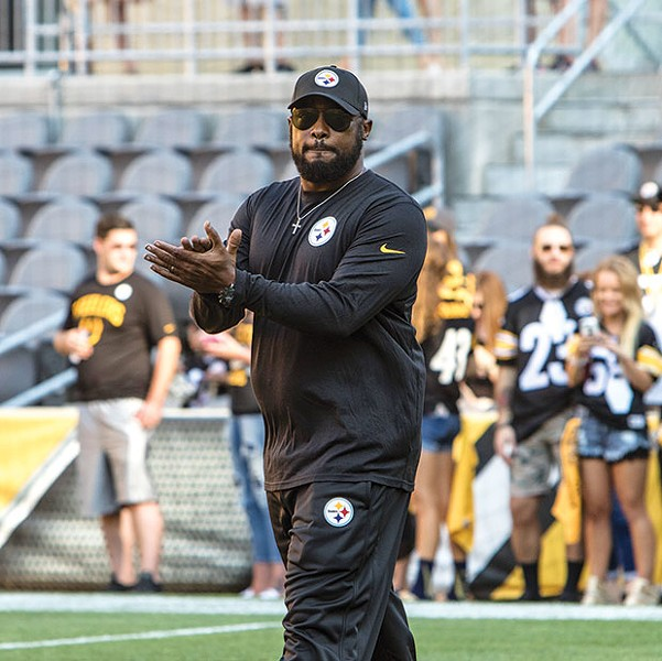 Steelers coach Mike Tomlin - CP PHOTO BY LUKE THOR TRAVIS