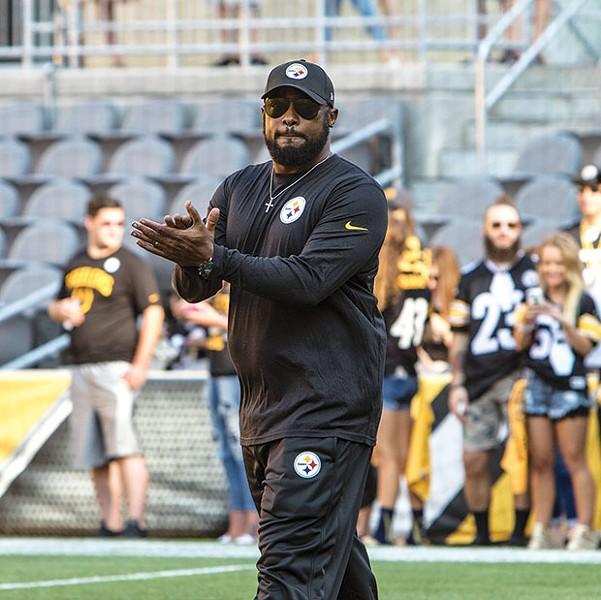 Steelers coach Mike Tomlin - CP PHOTO BY LUKE THOR TRAVIS