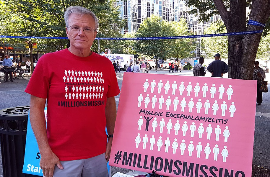 Gary Tillman at the Millions Missing rally in Pittsburgh - CP PHOTO BY REBECCA ADDISON