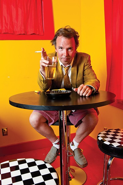Doug Stanhope, at the Improv