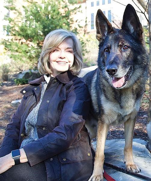 Sally Wiggin and Noris - PHOTO COURTESY OF SALLY WIGGIN