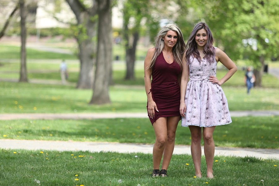 Natalie Fristick (left) and  Leila Sleiman (right) - PHOTO COURTESY OF MICHAEL FORNATARO