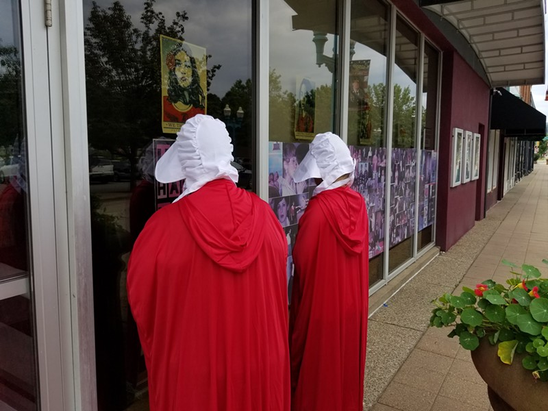 Costumed marchers like these will hit the street in Carnegie on Friday night - PHOTO COURTESY OF CARNEGIE STAGES