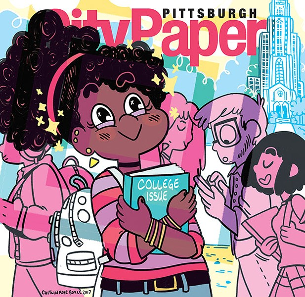 This week's Pittsburgh City Paper College Issue cover