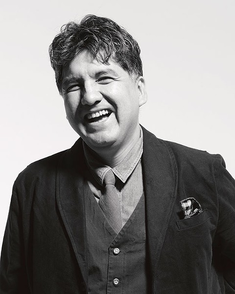 Sherman Alexie at Pittsburgh Arts & Lectures, Oct. 16