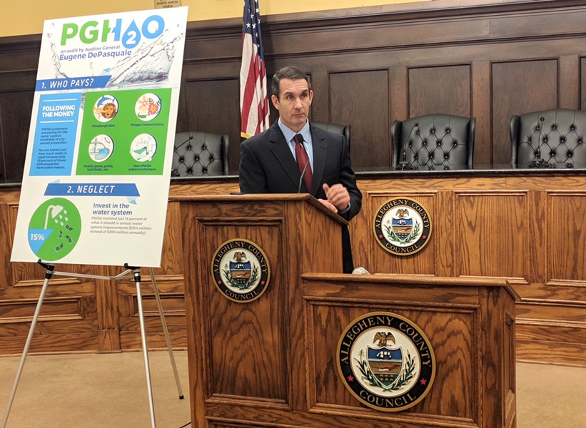 Pa. Auditor General Eugene DePasquale - CP PHOTO BY REBECCA ADDISON
