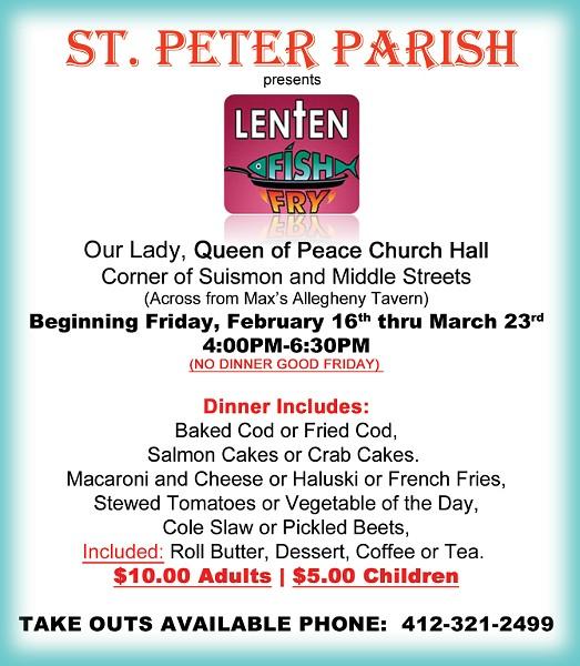 ST. PETER PARISH WEBSITE