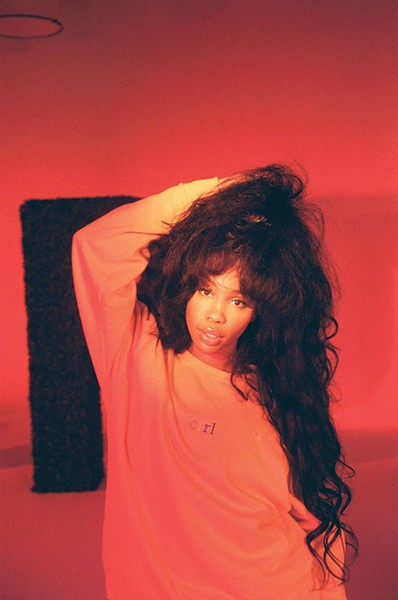 SZA - PHOTO COURTESY OF RCA RECORDS