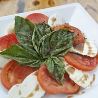 The Flats Caprese salad Photo by Heather Mull