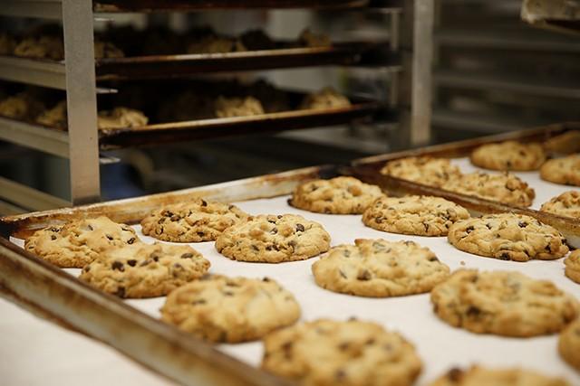 Nancy B's chocolate chip cookies - CP PHOTO: JARED WICKERHAM