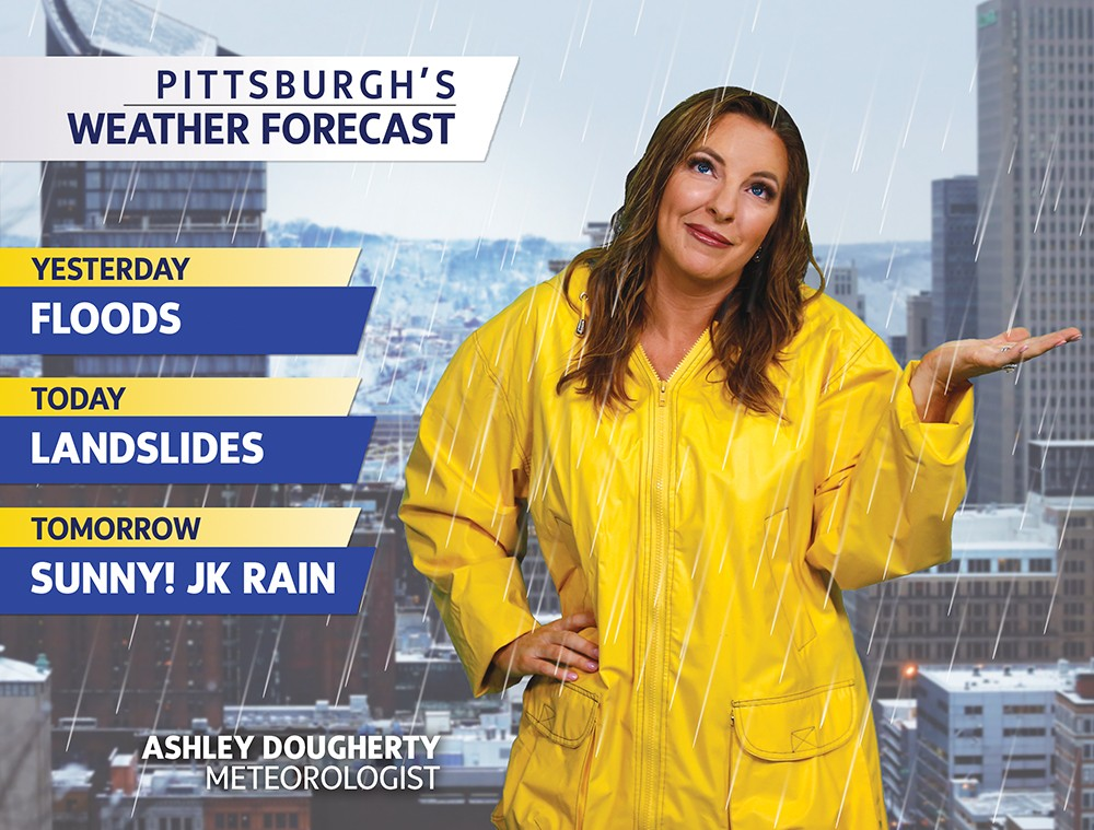 Pittsburgh had its second wettest year ever