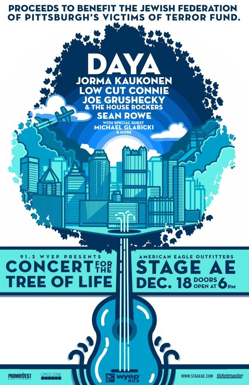 For $25, the Concert for the Tree of Life offers an evening of music