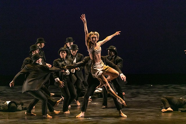 Conservatory Dance Company in Tyce Diorio's Chaplin Then and Now - PHOTO: KATIE GING