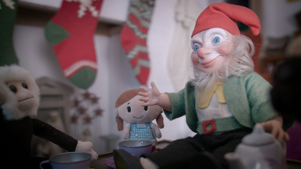 Proof of concept doll for The Elf in the Room