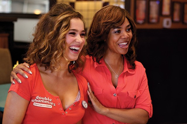Haley Lu Richardson and Regina Hall in Support the Girls - MAGNOLIA PICTURES