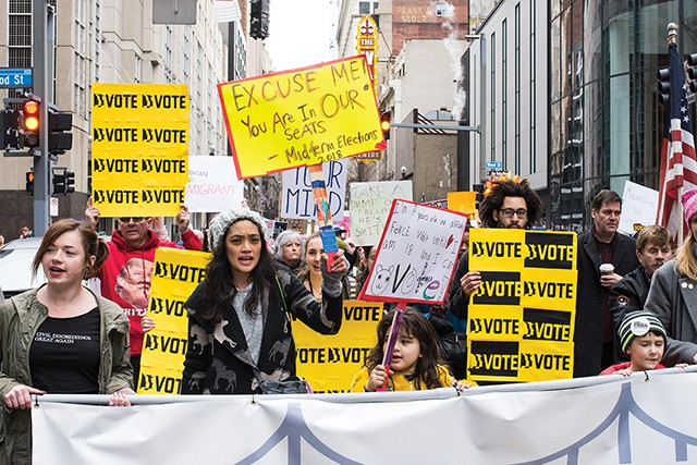 Women's March 2018 in Downtown Pittsburgh - CP FILE PHOTO: JAKE MYSLIWCZYK