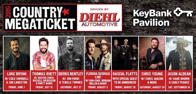 2019 Country Megaticket Driven by Diehl Automotive - LIVE NATION