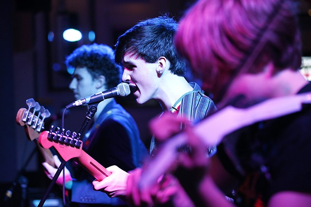 Snowdonia on stage at Hard Rock Cafe during CP's Battle of the Bands - CP PHOTO: JARED WICKERHAM