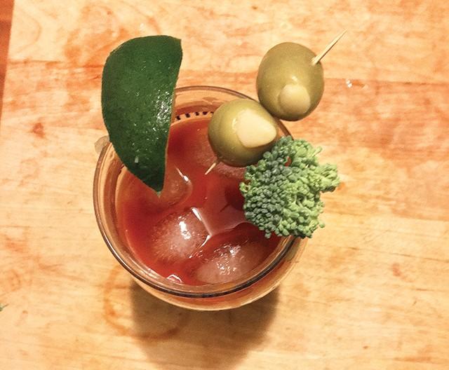 A very quiet Bloody Mary - CP PHOTO: HANNAH LYNN