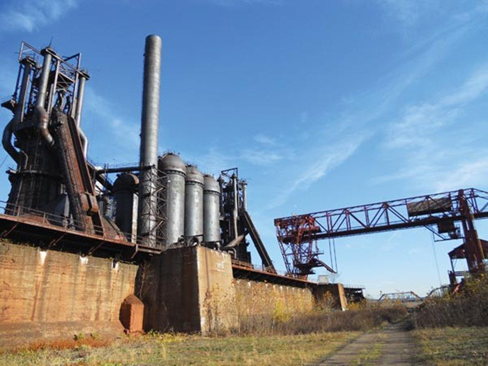 Carrie Blast Furnaces - PHOTO: RIVERS OF STEEL