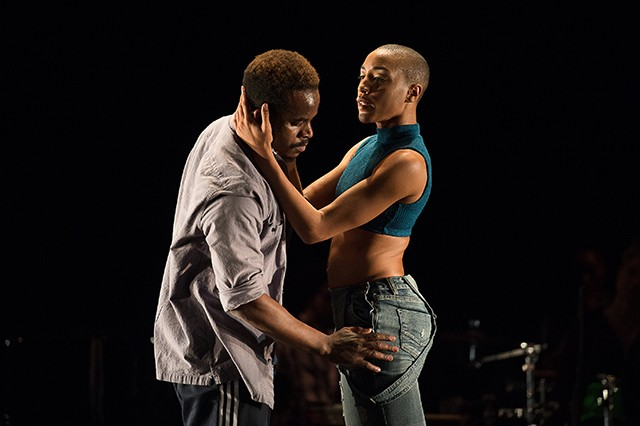 Camille A. Brown & Dancers in ink - CP PHOTO: CHRISTOPHER DUGGAN