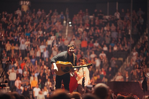 Mumford and Sons at PPG Paints Arena - CP PHOTO: JARED MURPHY