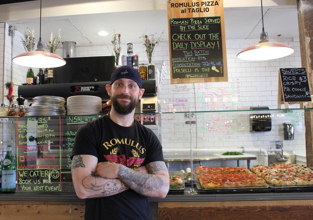 Kevin Konn of Romulus Pizza al Taglio - PHOTO: PIZZAFEST