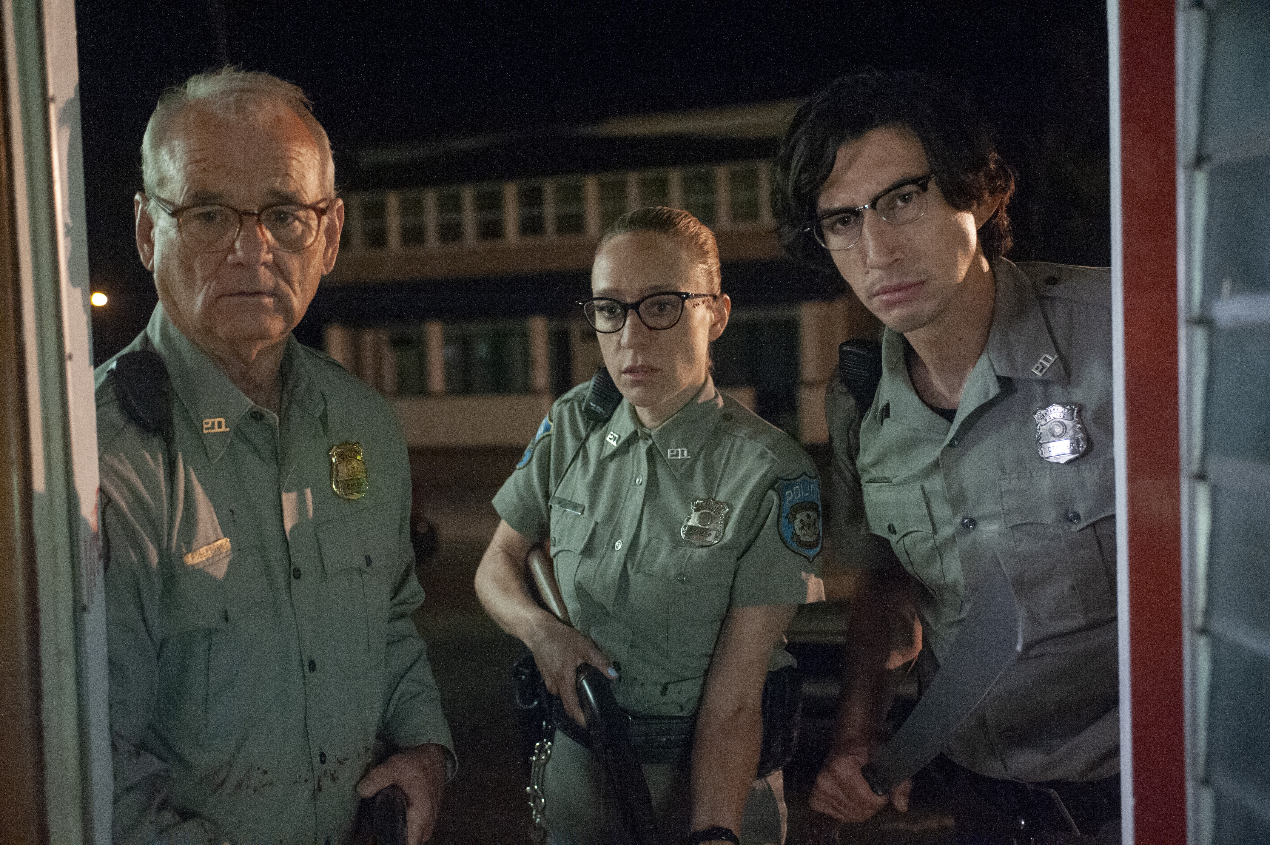 310ffc71 click to enlarge Bill Murray, Chloe Sevigny, and Adam Driver in The Dead  Don't Die