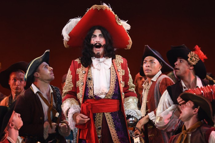 Charles Shaughnessy and cast in Peter Pan - PHOTO: MATT POLK