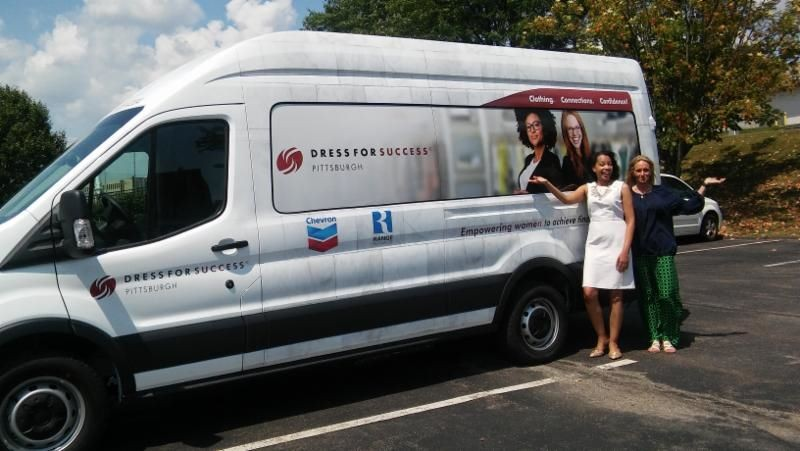 Dress for Success' new mobile boutiques - PHOTO: DRESS FOR SUCCESS