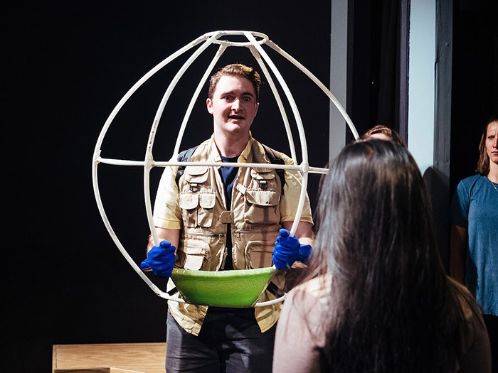 Rehearsal for Bubble Boy: The Musical at Arcade Comedy Theater - CP PHOTO: JARED MURPHY