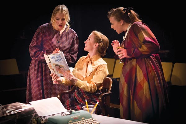 From left: Mary Brodland, Teresa Madden Harrold and Rebekah Hukill in Little Lake's The Best of Everything - PHOTO COURTESY OF HEATHER SPIRIK