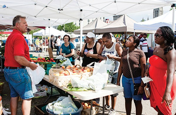 Citiparks' outdoor farmers' market