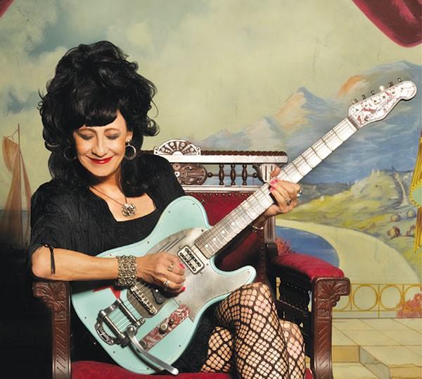 Rockabilly filly: Rosie Flores - PHOTO COURTESY OF RODNEY BURSIEL