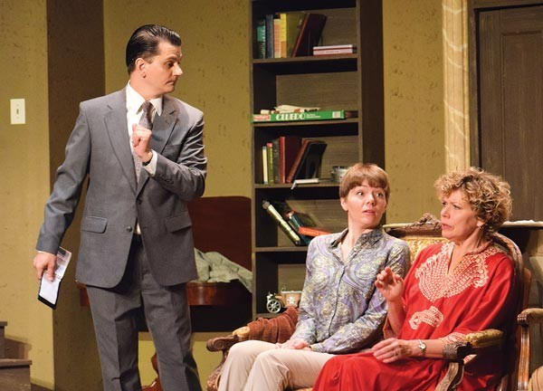 Craig Soich, Pam Lee and Terri Bowser in It Could Be Any One of Us - PHOTO COURTESY OF JOETTE SALANDRO