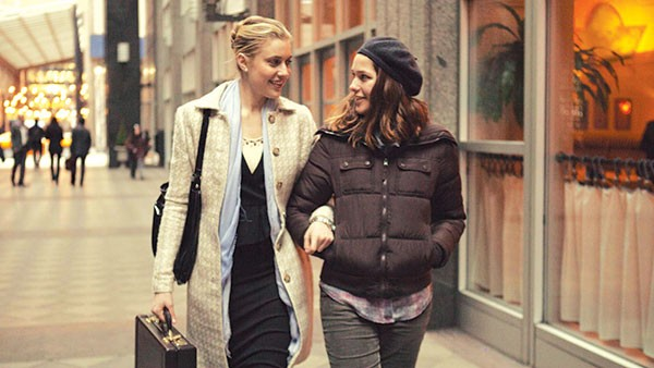 New besties: Greta Gerwig and Lola Kirke