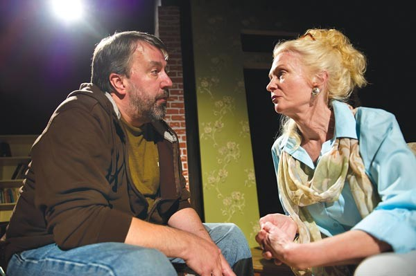 David Cabot and Cary Anne Spear in The REP's The Country House - PHOTO COURTY OF JEFF SWENSEN
