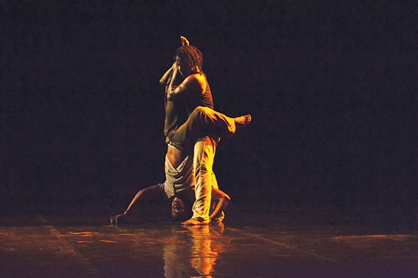 Baker & Tarpaga Dance performs Declassified Memory Fragment - PHOTO COURTESY OF REBEKAH EDIE