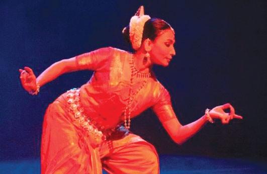 India's Nrityagram Dance Ensemble at work - PHOTO COURTESY OF NAN MELVILLE