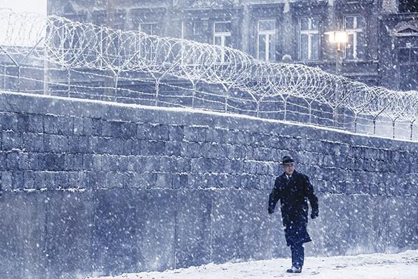 In from the cold: Jim Donovan (Tom Hanks) in Berlin