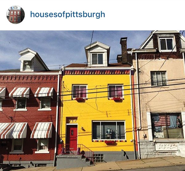 A featured @housesofpittsburgh, photographed by @ar_ay_ef