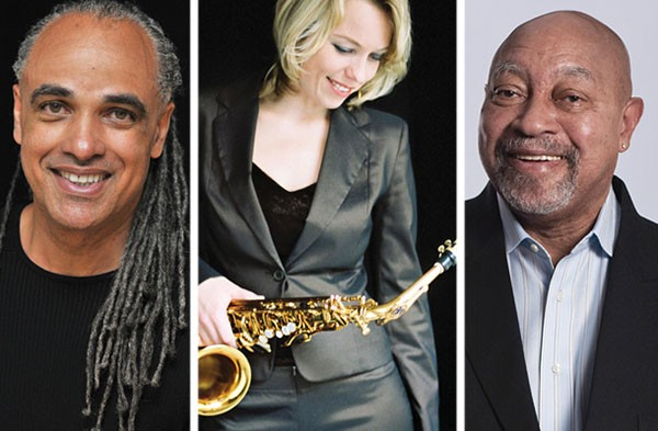 Mino Cinelu, Tineke Postma and Kenny Barron - PHOTOS COURTESY OF THE ARTISTS