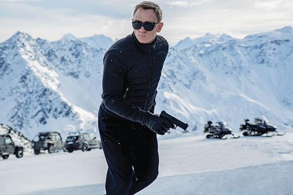 Snowblind: Daniel Craig as James Bond
